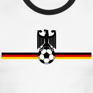 German Soccer - Men's Ringer T-Shirt