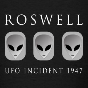 Roswell UFO Incident 1947 - Men's T-Shirt