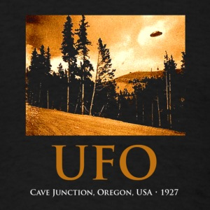 UFO 1927 Cave Junction - Men's T-Shirt
