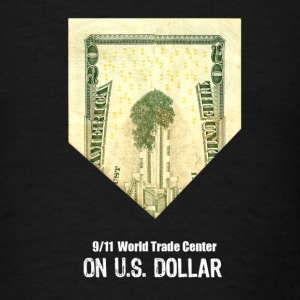 WTC on US Bill - Men's T-Shirt