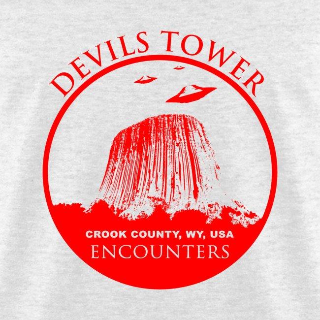 UFO Devils Tower