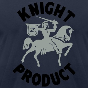 black knight - Men's T-Shirt by American Apparel