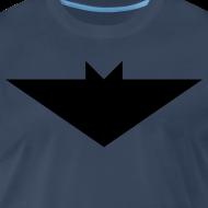 Design ~ Mens T-Shirt // Minimalist Superhero THE BAT