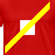 Design ~ Mens T-Shirt // Minimalist Superhero THE SPEEDSTER