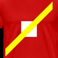 Design ~ Mens T-Shirt // Minimalist Superhero THE SPEEDSTER