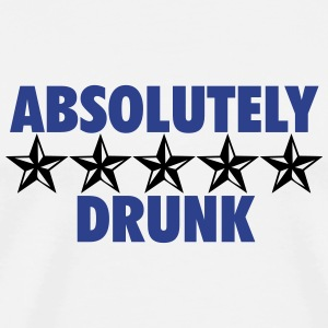 Absolutely Drunk (2c)++2014 T-Shirts - Men's Premium T-Shirt