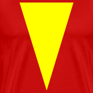 Design ~ Mens T-Shirt // Minimalist Superhero THE MARVEL