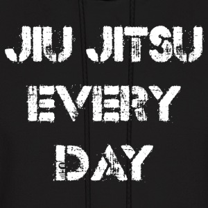 Jiu Jitsu Every Day Hoodies - Men's Hoodie