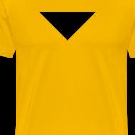 Design ~ Mens T-Shirt // Minimalist Superhero STARKONIUM - Dark