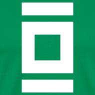 Design ~ Mens T-Shirt // Minimalist Superhero THE LANTERN