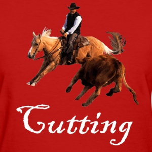 Cutting Horse Women's T-Shirts - Women's T-Shirt