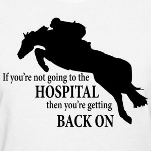 HunterJumper Going to hospital black Women's T-Shirts - Women's T-Shirt