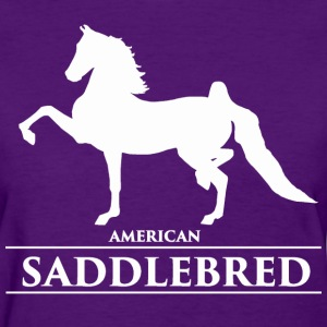 Saddlebred1 - white Women's T-Shirts - Women's T-Shirt