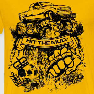 Mudding Truck T-Shirts - Men's Premium T-Shirt