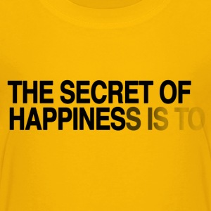 The secret of happiness is ... Kids' Shirts - Kids' Premium T-Shirt