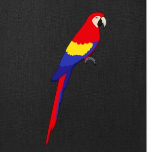 red parrot Bags & backpacks - Tote Bag