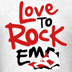 love to rock em j6 T-Shirts - Men's T-Shirt