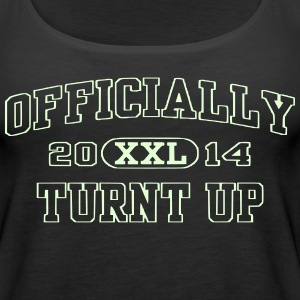 OFFICIALLY TURNT UP | TURN UP - Women's Premium Tank Top