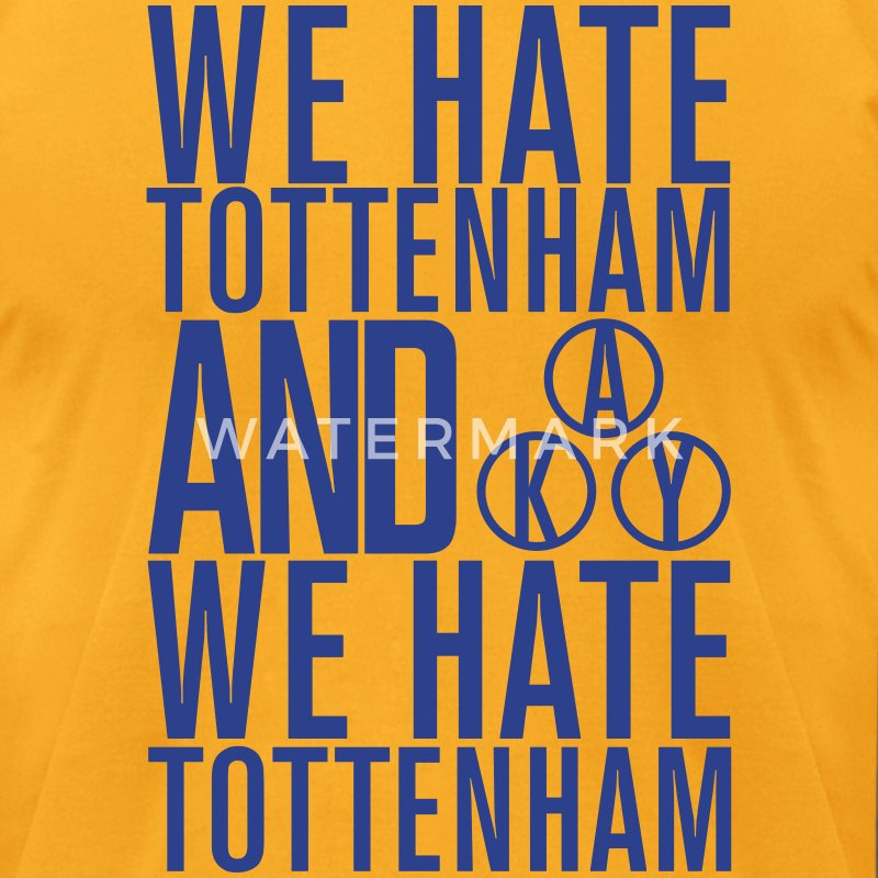 LIMITED EDITION: Tottenham - Men's T-Shirt by American Apparel