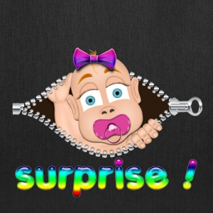 surprise Baby Boo Girl Pink Bags & backpacks - Tote Bag