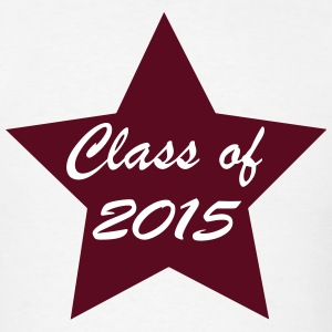 Class of 2015 Star T-Shirts - Men's T-Shirt
