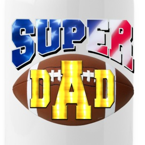 Super Dad USA 2 Bottles & Mugs - Water Bottle