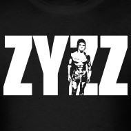 Design ~ Zyzz Stand Text T-Shirt