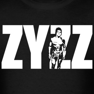 Zyzz Stand Text T-Shirt - Men's T-Shirt