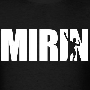 Zyzz Mirin Text T-Shirt - Men's T-Shirt