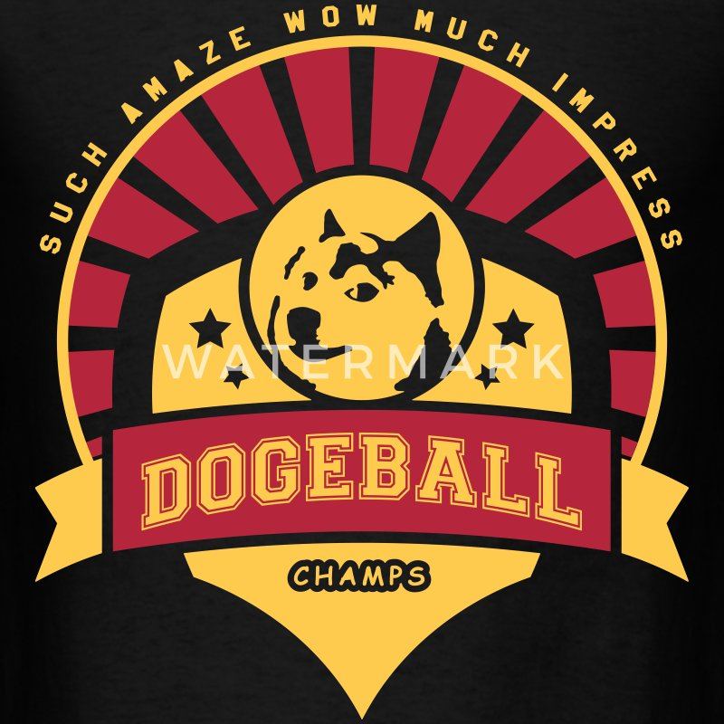 Doge Dogeball  - Men's T-Shirt