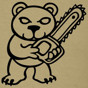 chainsaw bear T-Shirts - Men's T-Shirt
