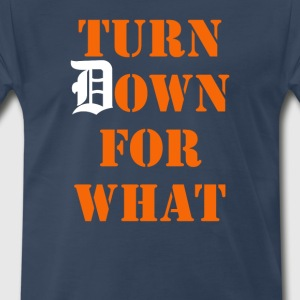 Turn Down T-Shirts - Men's Premium T-Shirt