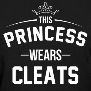 this_princess_wears_cleats Women's T-Shirts - Women's T-Shirt