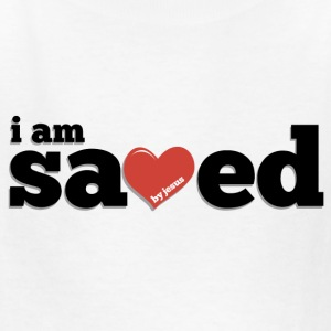 I am Saved by Jesus Kids' T-Shirt - Kids' T-Shirt