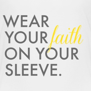 Wear Your Faith on Your Sleeve Kid's Premium T-Shi - Kids' Premium T-Shirt