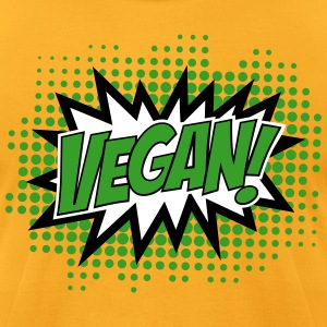 Go Vegan, Comic Book Style T-Shirts - Men's T-Shirt by American Apparel