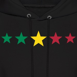 Reggae Star, Music, Rastafari, Jamaica, Jah, Rasta Hoodies - Men's Hoodie