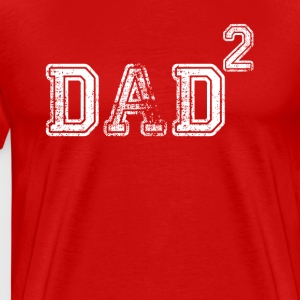 Dad Of 2 T-Shirts - Men's Premium T-Shirt