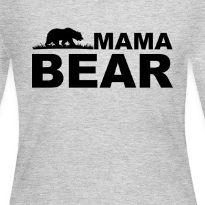 Mama Bear Long Sleeve Shirts - Women's Long Sleeve Jersey T-Shirt