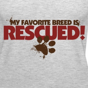 Rescue dogs - Women's Premium Tank Top