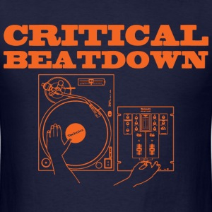 critical beatdown T-Shirts - Men's T-Shirt