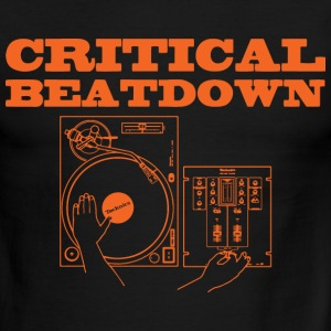 critical beatdown T-Shirts - Men's Ringer T-Shirt