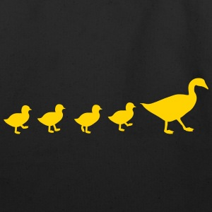 A duck family Bags & backpacks - Eco-Friendly Cotton Tote