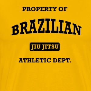 Athletic Brazilian Jiu Jitsu T-Shirts - Men's Premium T-Shirt