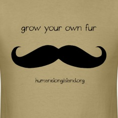 Grow Your Own Fur - Black T-Shirts