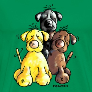 Funny Labrador Retriever - Dog  T-Shirts - Men's Premium T-Shirt