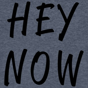 Hey Now - Men's V-Neck T-Shirt by Canvas