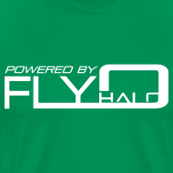 Design ~ Powered By Fly Halo - blue
