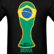 Design ~ Brazil World Cup 2014 Trophy Shirt
