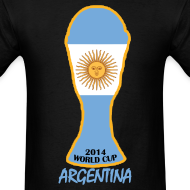 Design ~ Argentina World Cup 2014 Trophy Shirt